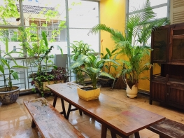 Open Space Serviced Apartment with Big Balcony at Nguyen Dinh Dinh Chieu D1
