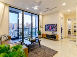 Serviced Apartment in Vinhome Golden River, District 1.